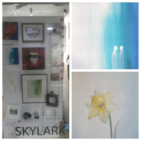 Valentines Show on at both Skylark Galleries